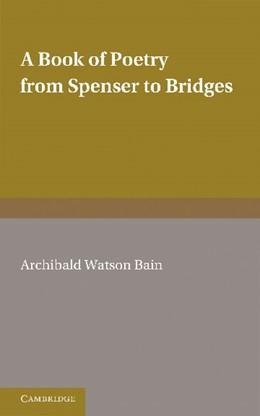 Abbildung von A Book of Poetry from Spenser to Bridges | 2012