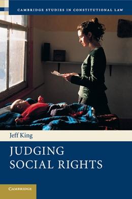 Abbildung von King | Judging Social Rights | 2012 | 3