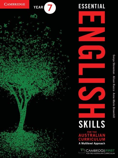 Abbildung von Brownhill / Rucco / Stoneman | Essential English Skills for the Australian Curriculum Year 7 | 2012