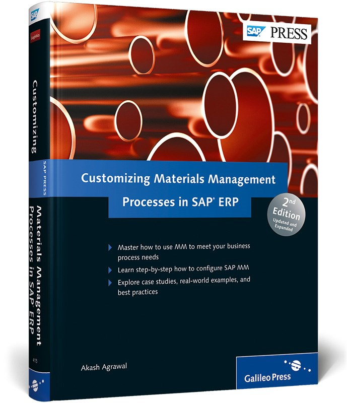 Abbildung von Agrawal | Customizing Materials Management Processes in SAP ERP | 2012