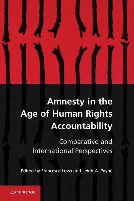 Abbildung von Lessa / Payne | Amnesty in the Age of Human Rights Accountability | 2012