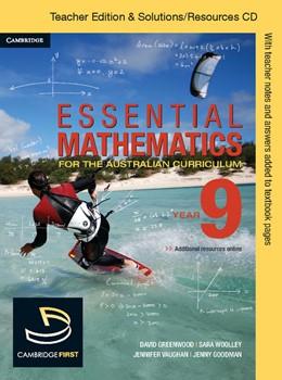 Abbildung von Cujes / Goodman / McMenamin | Essential Mathematics for the Australian Curriculum Year 9 Teacher Edition | 2012
