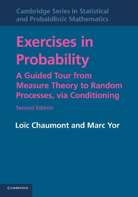 Abbildung von Chaumont / Yor | Exercises in Probability | 2012