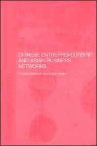 Abbildung von Gerke / Menkhoff | Chinese Entrepreneurship and Asian Business Networks | 2002