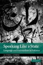 Abbildung von Ayres   Speaking Like a State   2012