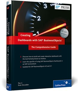 Abbildung von Li / DeLodder | Creating Dashboards with SAP BusinessObjects | 2012 | The Comprehensive Guide
