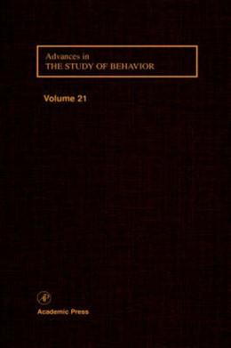 Abbildung von Advances in the Study of Behavior | 1992 | Volume 21 | 21