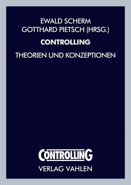 Abbildung von Scherm / Pietsch | Controlling | 2004