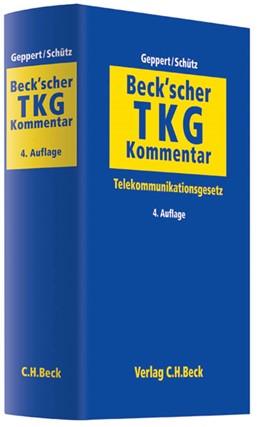 Abbildung von Beck'scher TKG-Kommentar   4. Auflage   2013   Telekommunikationsgesetz
