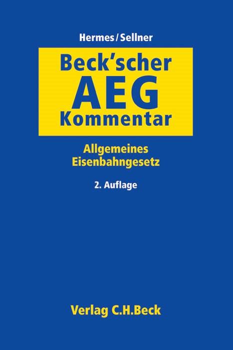 Beck'scher AEG-Kommentar | 2. Auflage, 2014 | Buch (Cover)