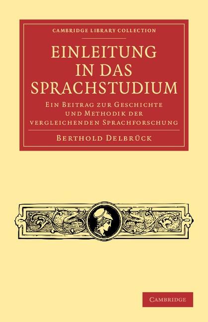 Abbildung von Delbrück | Einleitung in das Sprachstudium | 2012