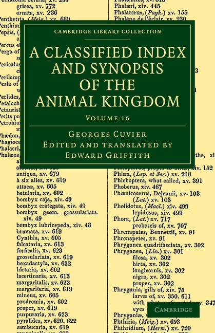 Abbildung von Cuvier | A Classified Index and Synopsis of the Animal Kingdom | 2012