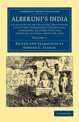 Abbildung von Biruni   Alberuni's India   2012   An Account of the Religion, Ph...