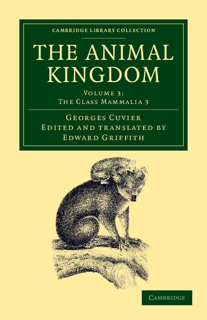 Abbildung von Cuvier | The Animal Kingdom | 2012