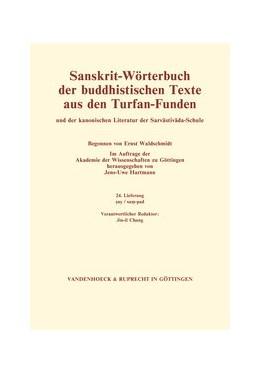 Abbildung von Hartmann | Sanskrit-Wörterbuch der buddhistischen Texte aus den Turfan-Funden. Lieferung 24 | 2012 | sas/sam-pad (24. Lfg.)