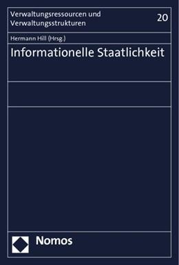 Abbildung von Hill | Informationelle Staatlichkeit | 1. Auflage 2012 | 2012 | 20
