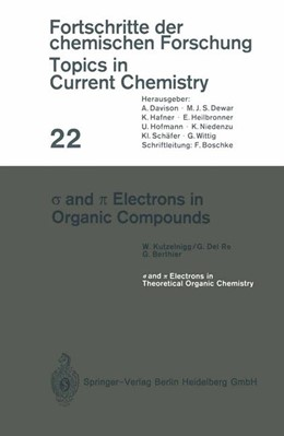 Abbildung von Kutzelnigg / Del Re / Berthier | s and p Electrons in Organic Compounds | 1972 | 22