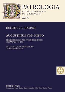 Abbildung von Drobner   Augustinus von Hippo   2012   Predigten zur Apostelgeschicht...   26