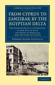 Abbildung von Vizetelly | From Cyprus to Zanzibar by the Egyptian Delta | 2012