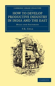 Abbildung von Cola | How to Develop Productive Industry in India and the East | 2012