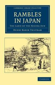 Abbildung von Tristram | Rambles in Japan | 2012