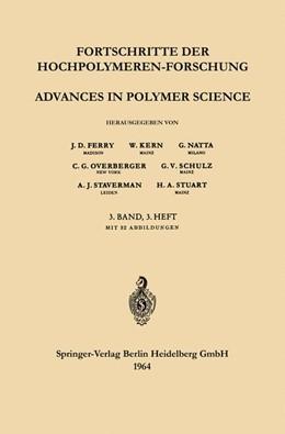 Abbildung von Ferry / Kern / Natta | Advances in Polymer Science / Fortschritte der Hochpolymeren-Forschung | 1964 | 3/3