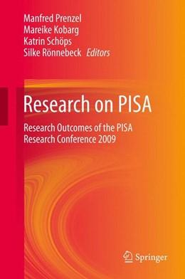 Abbildung von Prenzel / Kobarg / Schöps / Rönnebeck | Research on PISA | 2012 | Research Outcomes of the PISA ...