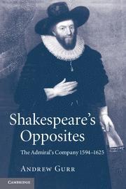 Abbildung von Gurr | Shakespeare's Opposites | 2012