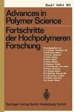Abbildung von Cantow / Dall'Asta / Ferry | Fortschritte der Hochpolymeren Forschung | 1971 | 7/4