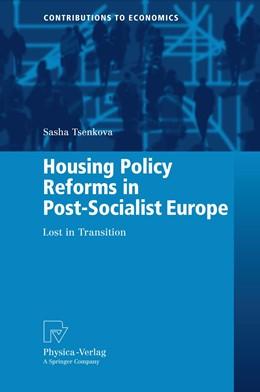 Abbildung von Tsenkova | Housing Policy Reforms in Post-Socialist Europe | 2010 | Lost in Transition