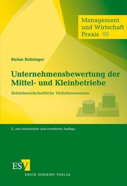 Abbildung von Behringer | Unternehmensbewertung der Mittel- und Kleinbetriebe | 5., neu bearbeitete und erweiterte Auflage | 2012 | Betriebswirtschaftliche Verfah... | 69