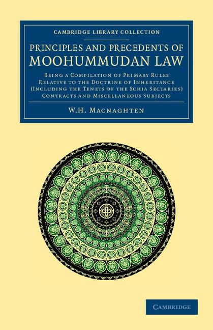 Abbildung von Macnaghten | Principles and Precedents of Moohummudan Law | 2012
