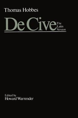 Abbildung von Hobbes / Warrender | De Cive: The Latin Version | 1. Auflage | 1984 | II | beck-shop.de
