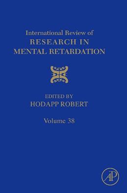 Abbildung von Hodapp | International Review of Research in Mental Retardation | 2009 | 38