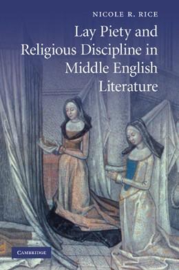 Abbildung von Rice | Lay Piety and Religious Discipline in Middle English Literature | 2012 | 73