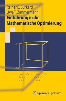 Abbildung von Burkard / Zimmermann | Einführung in die Mathematische Optimierung | 2012