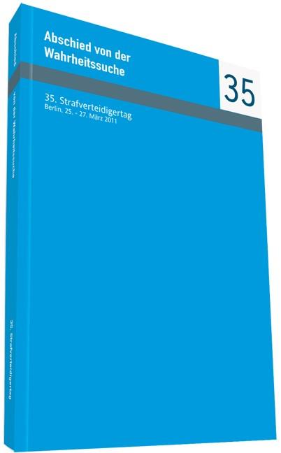 Abschied von der Wahrheitssuche, 2012 | Buch (Cover)