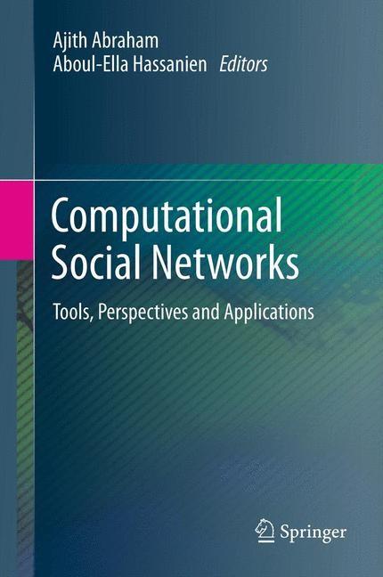 Abbildung von Abraham / Hassanien | Computational Social Networks | 2012