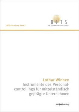 Abbildung von Winnen | Instrumente des Personalcontrollings für mittelständisch geprägte Unternehmen | 1. Auflage 2012 | 2012 | 7