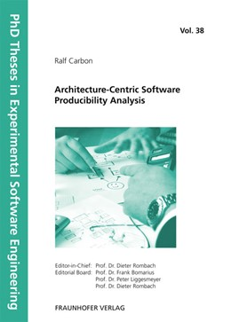 Abbildung von / Rombach / Liggesmeyer / Bomarius | Architecture-Centric Software Producibility Analysis | 2012 | 38