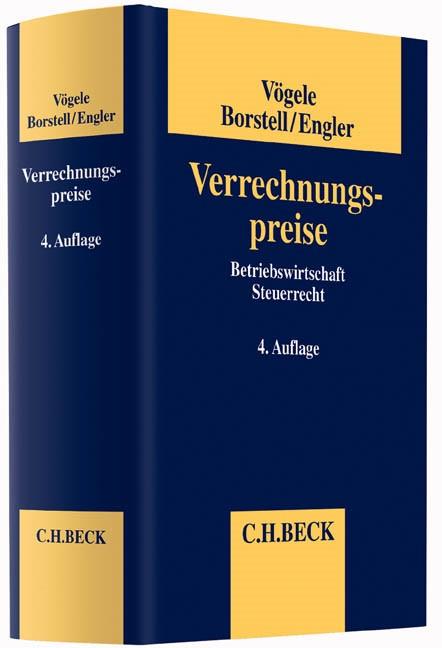 Verrechnungspreise | Vögele / Borstell / Engler | 4., vollständig neubearbeitete Auflage, 2015 | Buch (Cover)