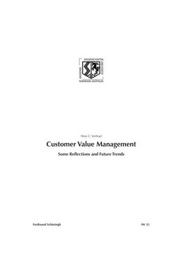 Abbildung von Verhoef | Customer Value Management | 1. Aufl. 2012 | 2012 | Some Reflections and Future Tr... | 35