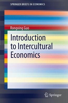 Abbildung von Guo | Introduction to Intercultural Economics | 2012