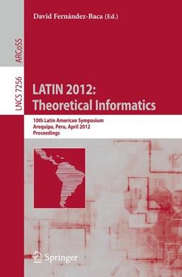 Abbildung von Fernández-Baca | LATIN 2012: Theoretical Informatics | 2012 | 10th Latin American Symposium,... | 7256