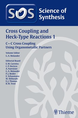 Abbildung von Science of Synthesis: Cross Coupling and Heck-Type Reactions Vol. 1   1. Auflage   2012   C-C Cross Coupling Using Organ...