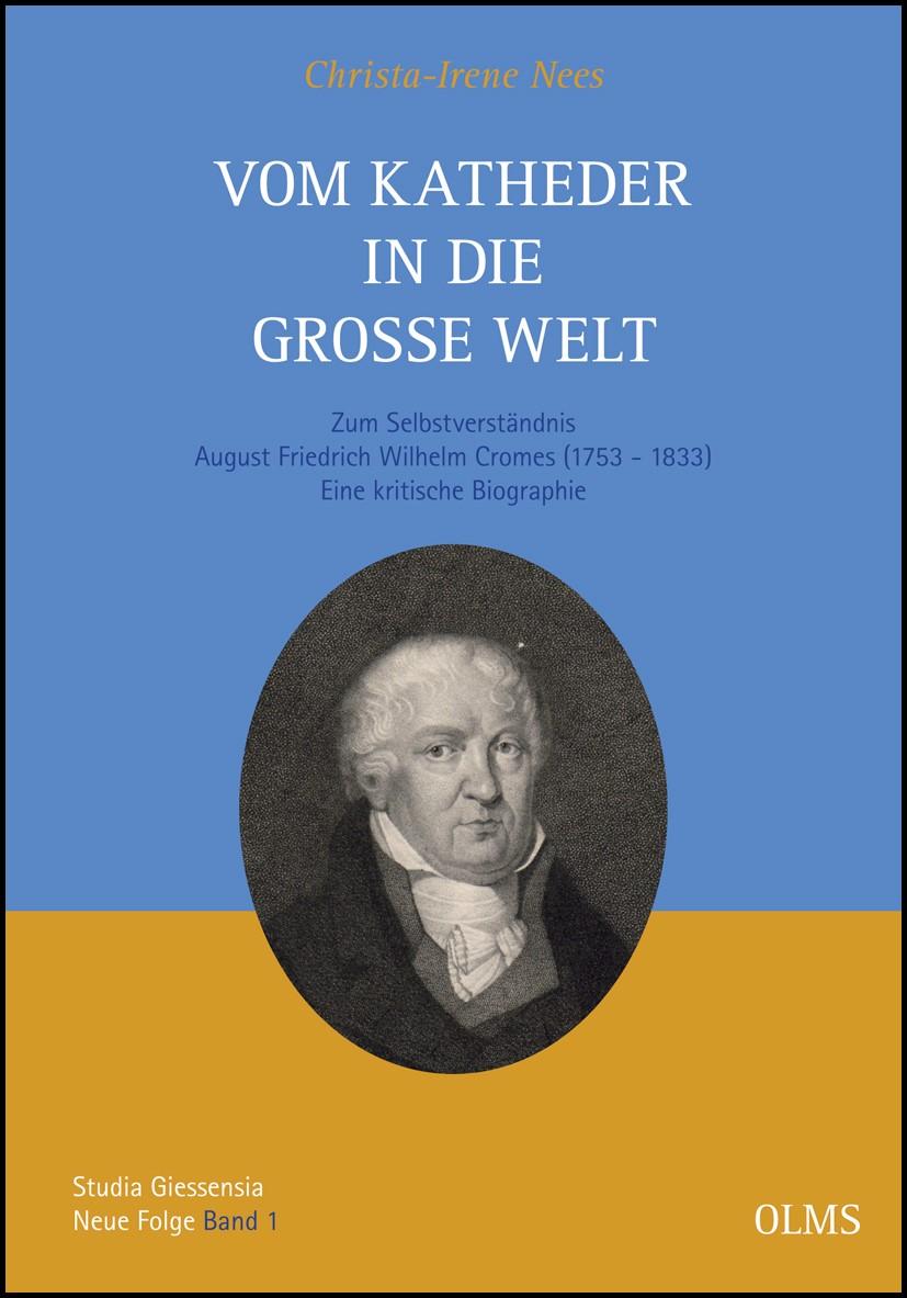 Abbildung von Nees | Vom Katheder in die große Welt | 2012 | 2012
