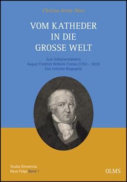Abbildung von Nees | Vom Katheder in die große Welt | 1. Auflage | 2012 | 1 | beck-shop.de