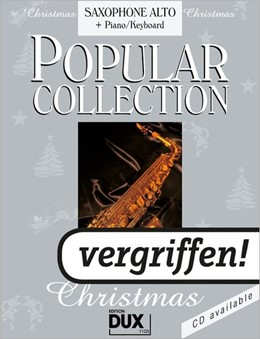 Abbildung von Himmer | Popular Collection Christmas. Saxophone Alto + Piano / Keyboard