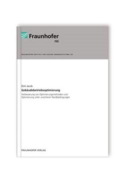 Abbildung von Jacob /   Gebäudebetriebsoptimierung   2012   Verbesserung von Optimierungsm...