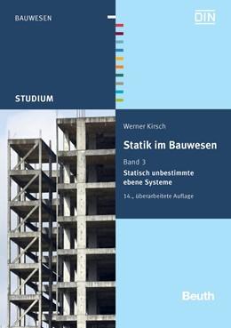 Abbildung von Kirsch / | Statik im Bauwesen | überarbeitete Ausgabe | 2012 | Band 3: Statisch unbestimmte e...